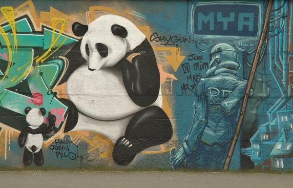 Kung Fu Panda vs Dark Vador