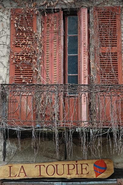 C'est une maison abandonnée
